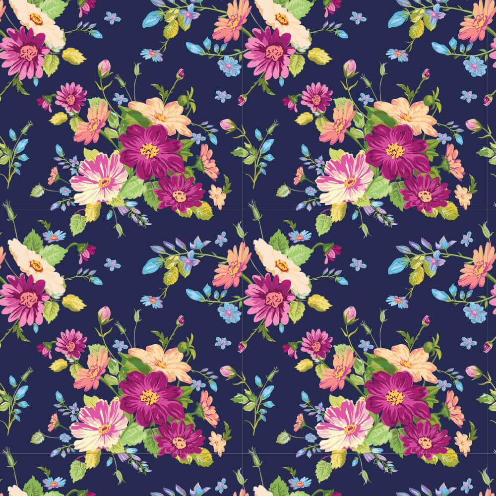 Papel de Parede Flores 1A