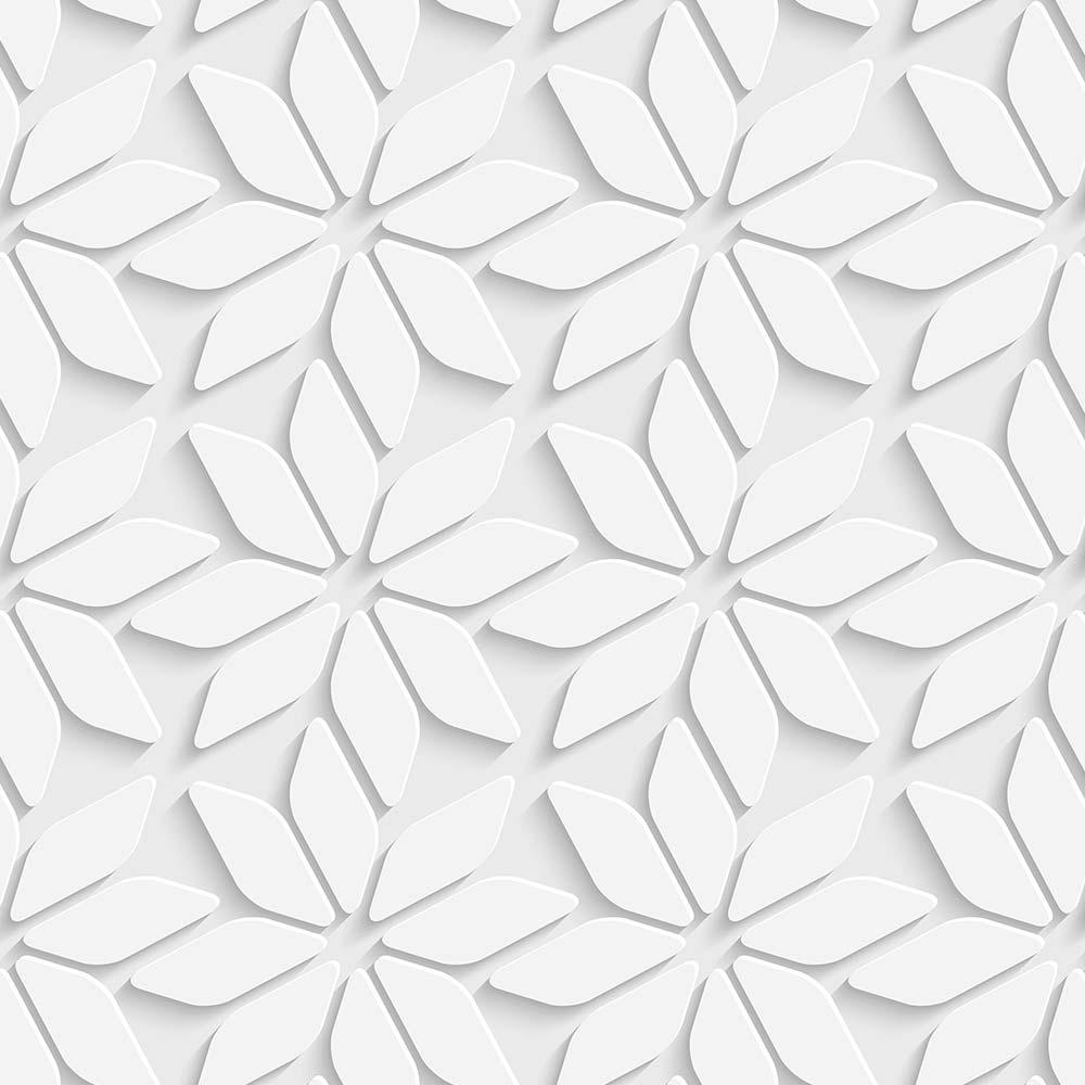 Papel de Parede Flores 3D 1