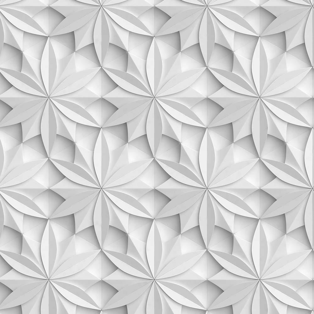 Papel de Parede 3D - Flores 3D 2