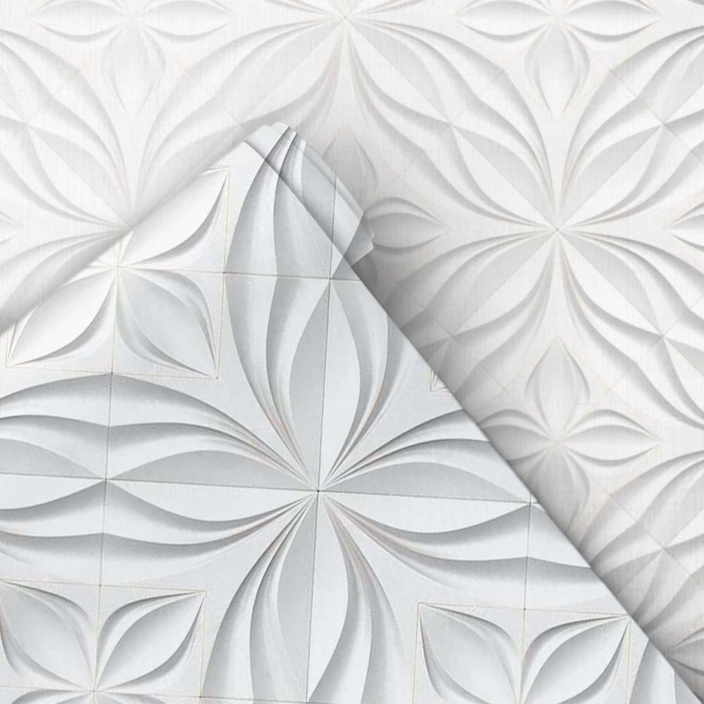 Papel de Parede Flores 3D 3
