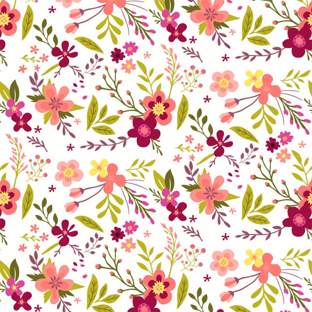 Papel de Parede Flores de Campo 1