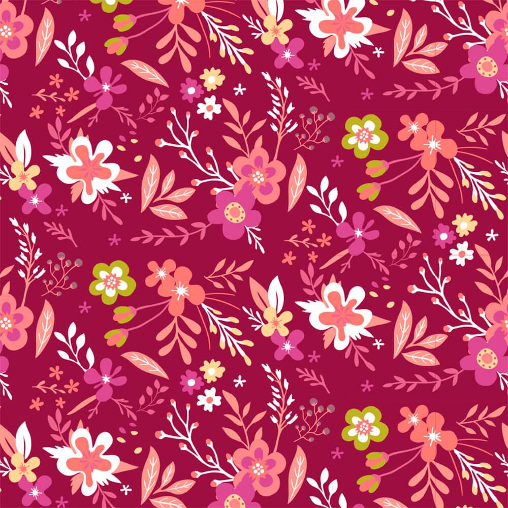 Papel de Parede Flores de Campo 3