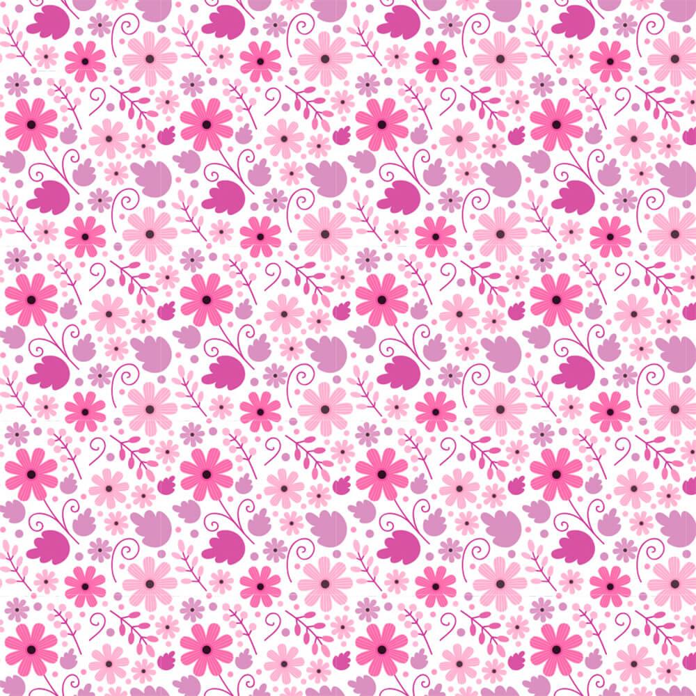 Papel de Parede Flores Nina 1