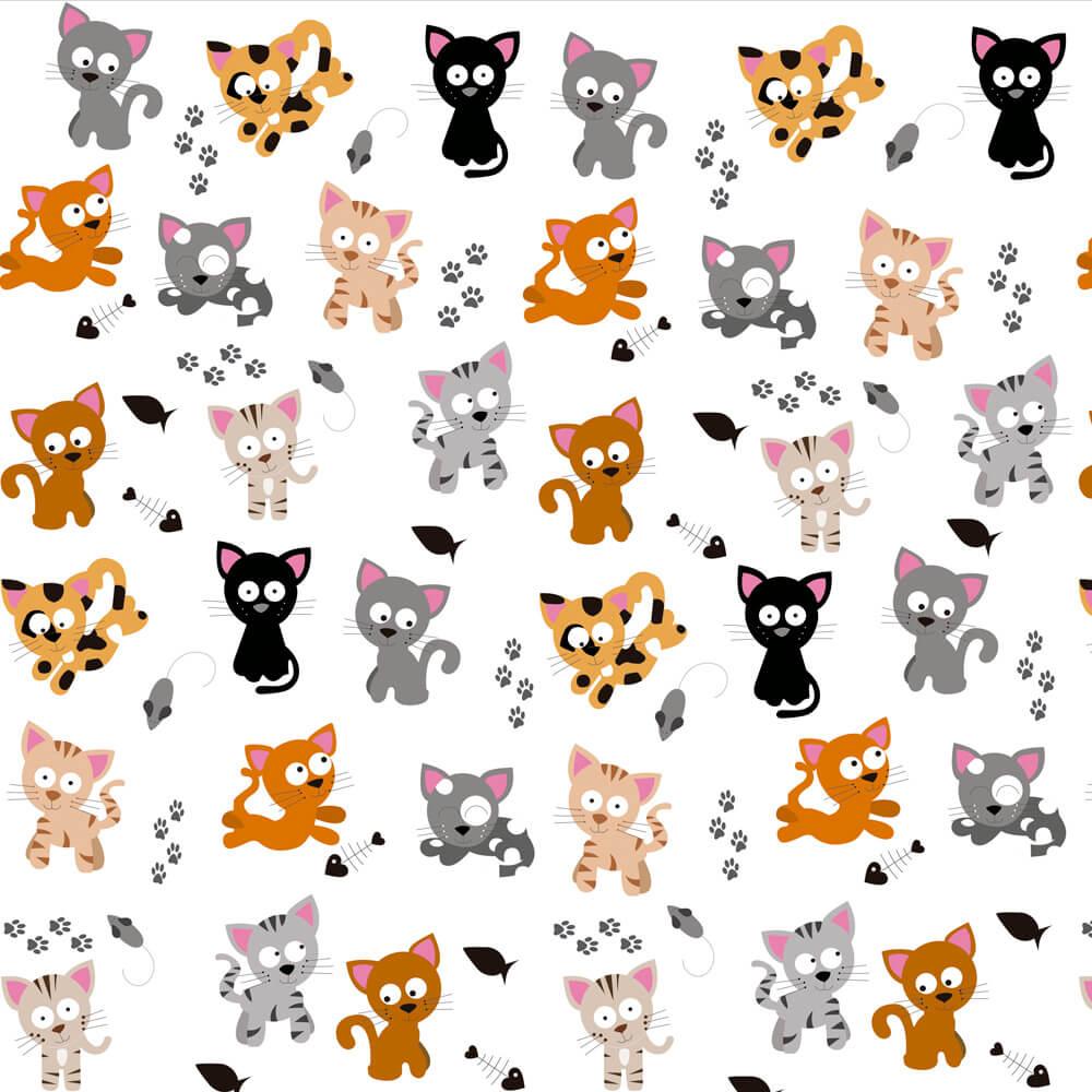 Papel de Parede Funny Cats