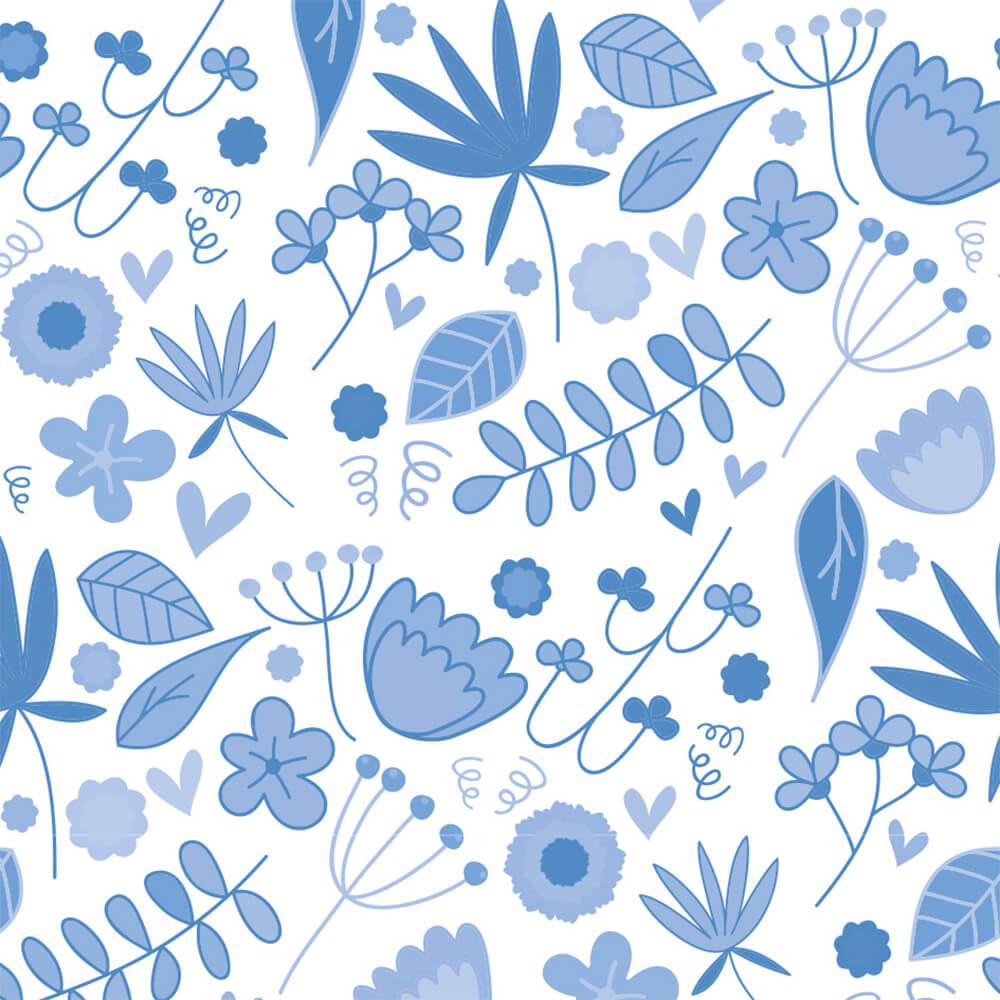 Papel de Parede Galhos e Flores 1
