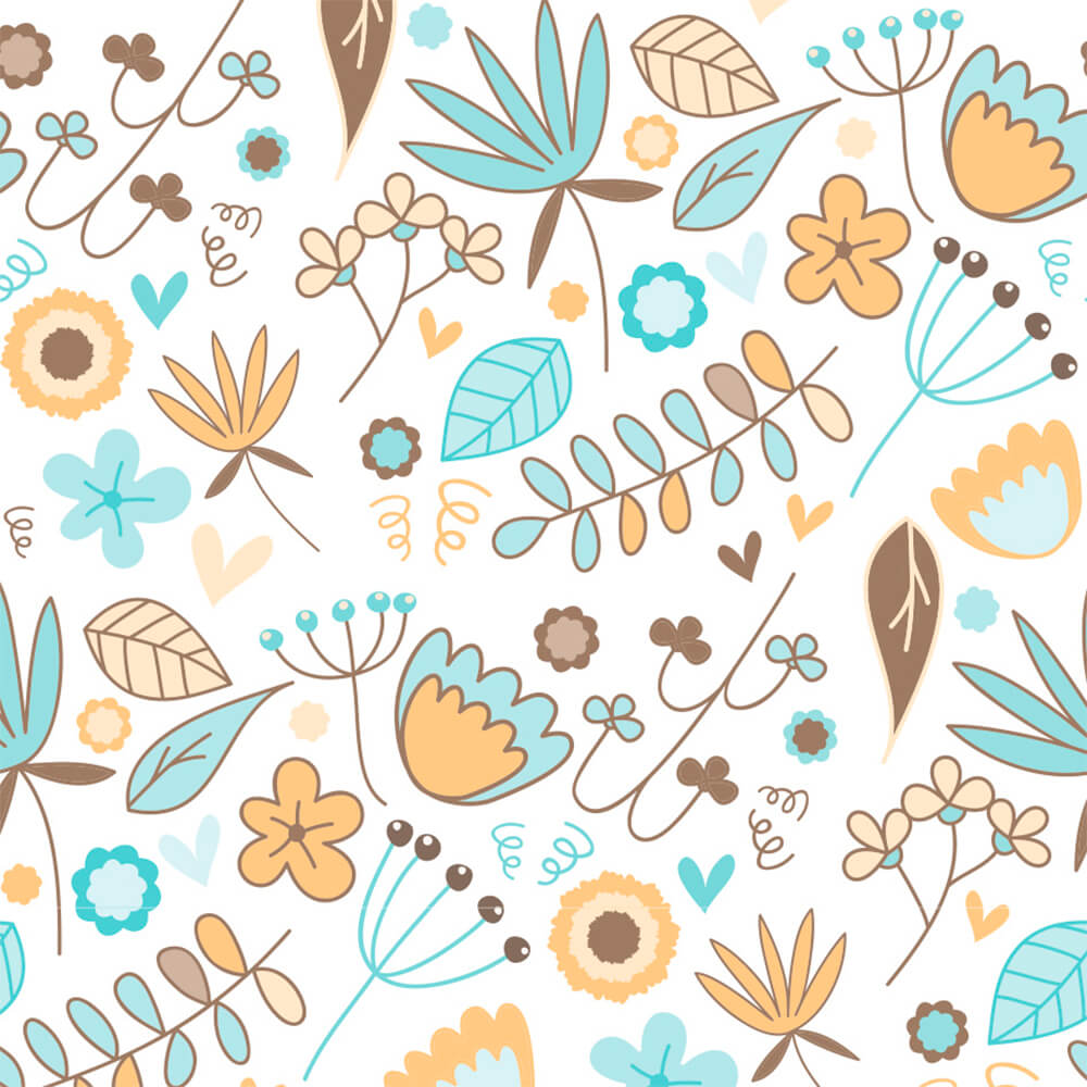 Papel de Parede Galhos e Flores 2