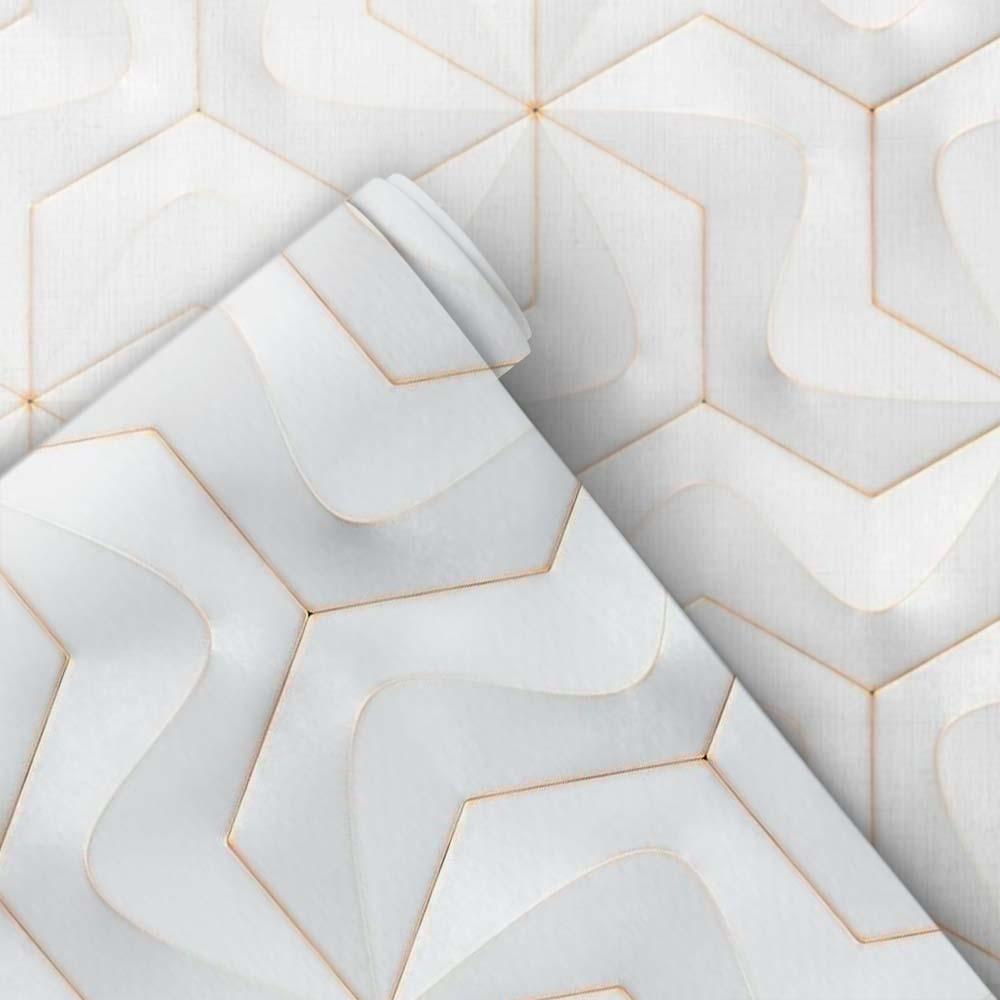 Papel de Parede Geométrico 3D 16