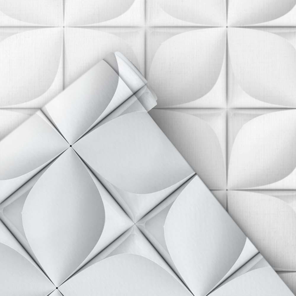 Papel de Parede Geométrico 3D 20