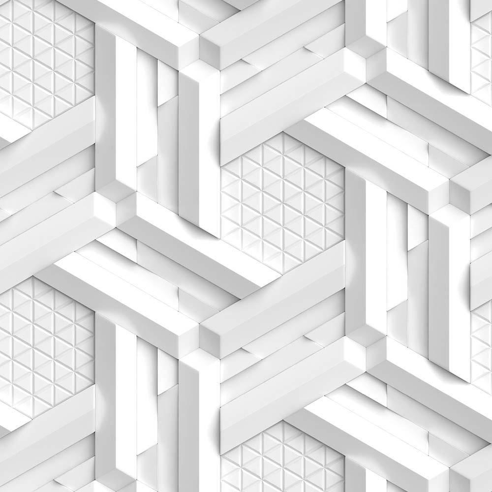 Papel de Parede 3D - Geométrico 3D 21