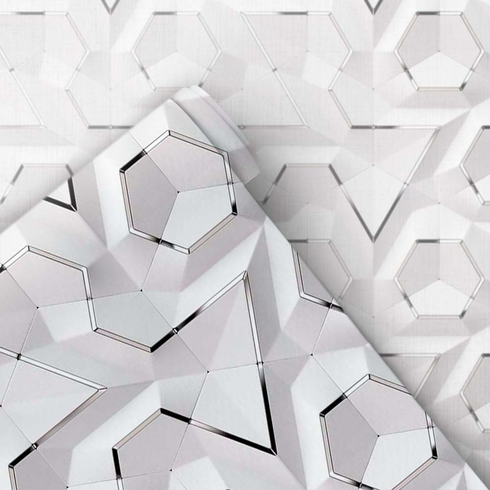 Papel de Parede Geométrico 3D 22