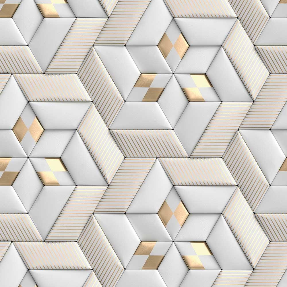 Papel de Parede 3D - Geométrico 3D 23