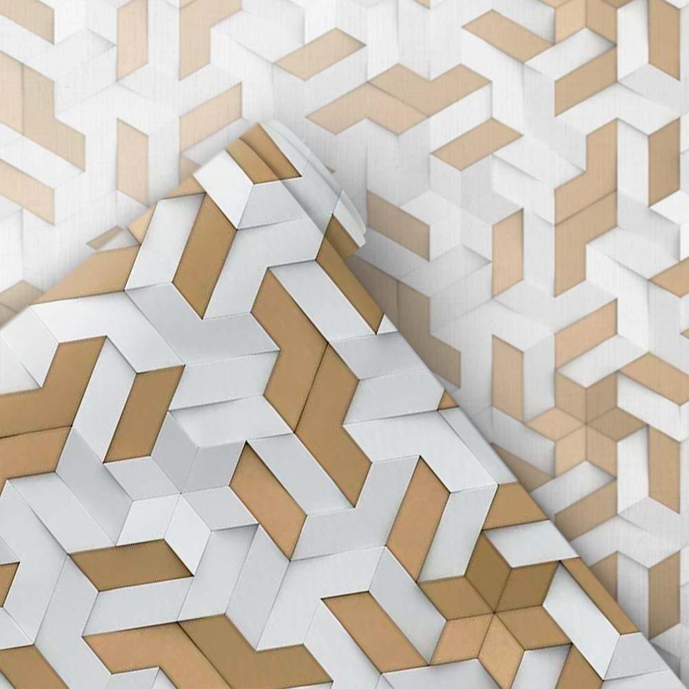 Papel de Parede 3D - Geométrico 3D 25