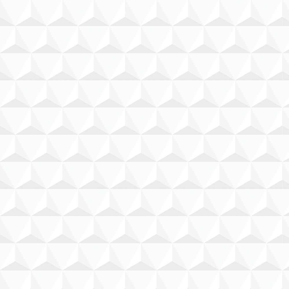 Papel de Parede 3D - Geométrico Branco 1