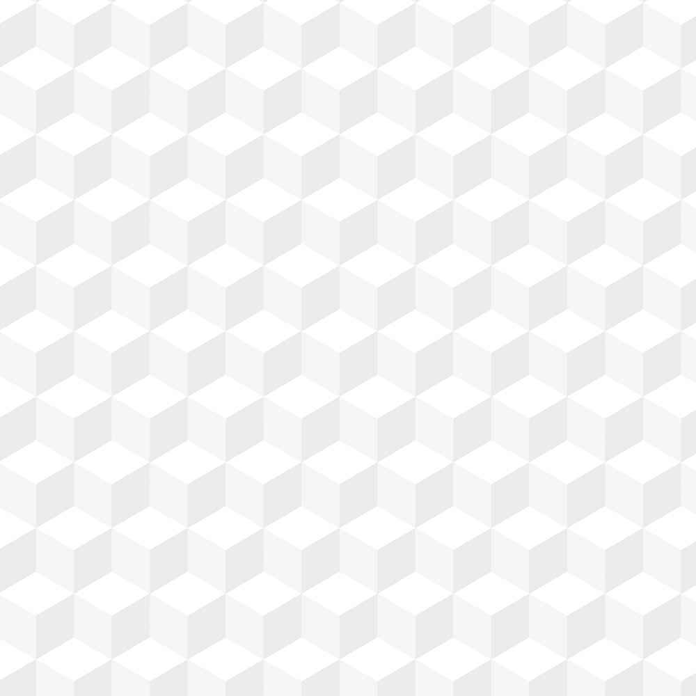 Papel de Parede Geométrico Branco 2