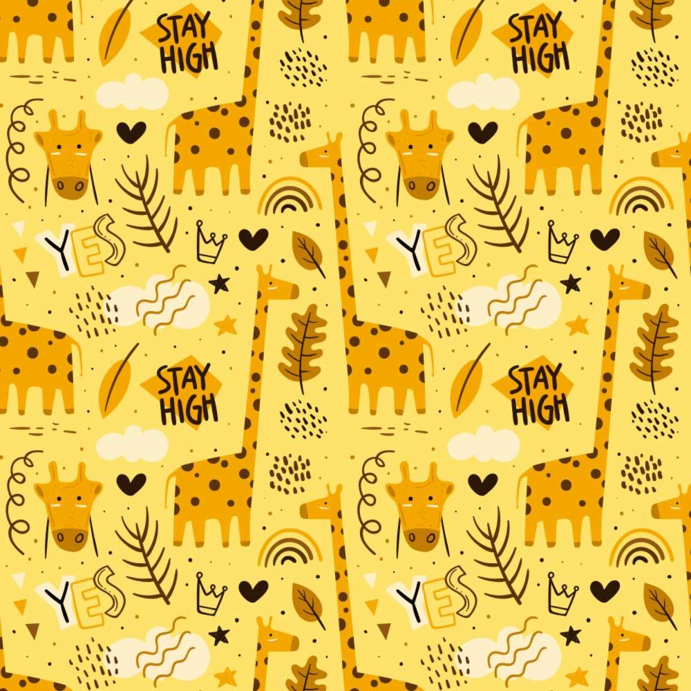 Papel de Parede Girafa