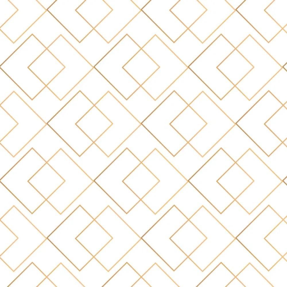 Papel de Parede Gold Lines 1
