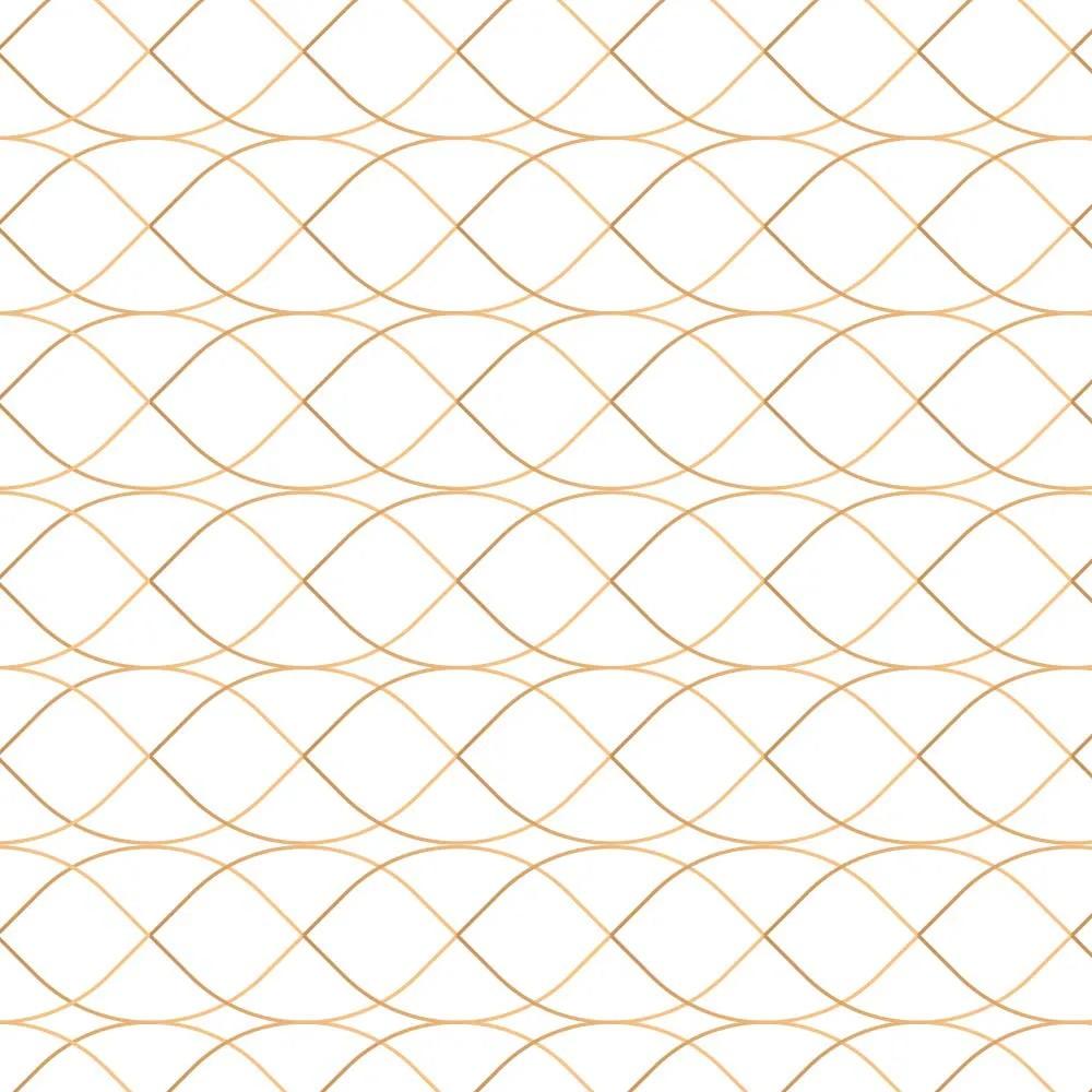 Papel de Parede Gold Lines 2