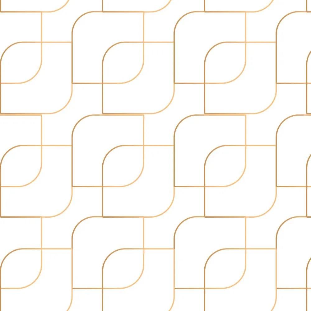 Papel de Parede Gold Lines 3