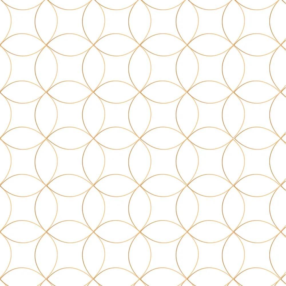 Papel de Parede Gold Lines 5