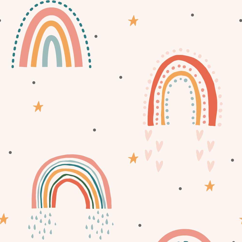 Papel de Parede Infantil - Boho Rainbow 6
