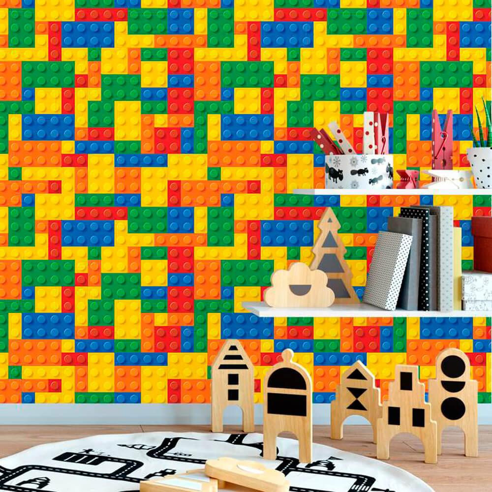 Papel de Parede Infantil - Lego 2