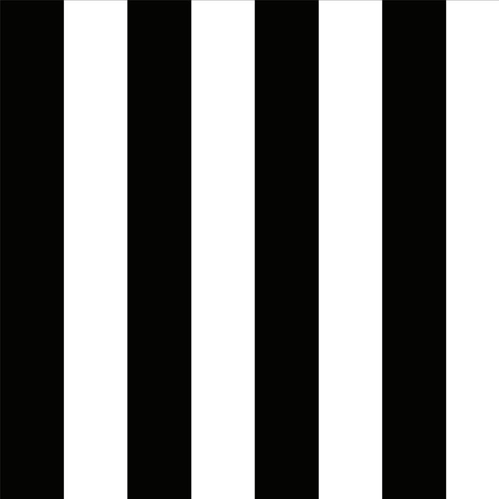 Papel de Parede Listras Preto e Branco
