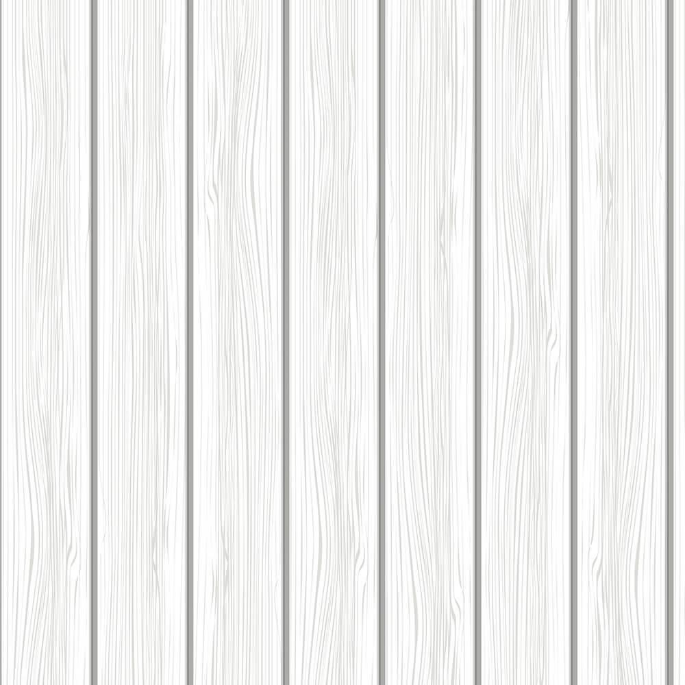 Papel de Parede Madeira Branca 1