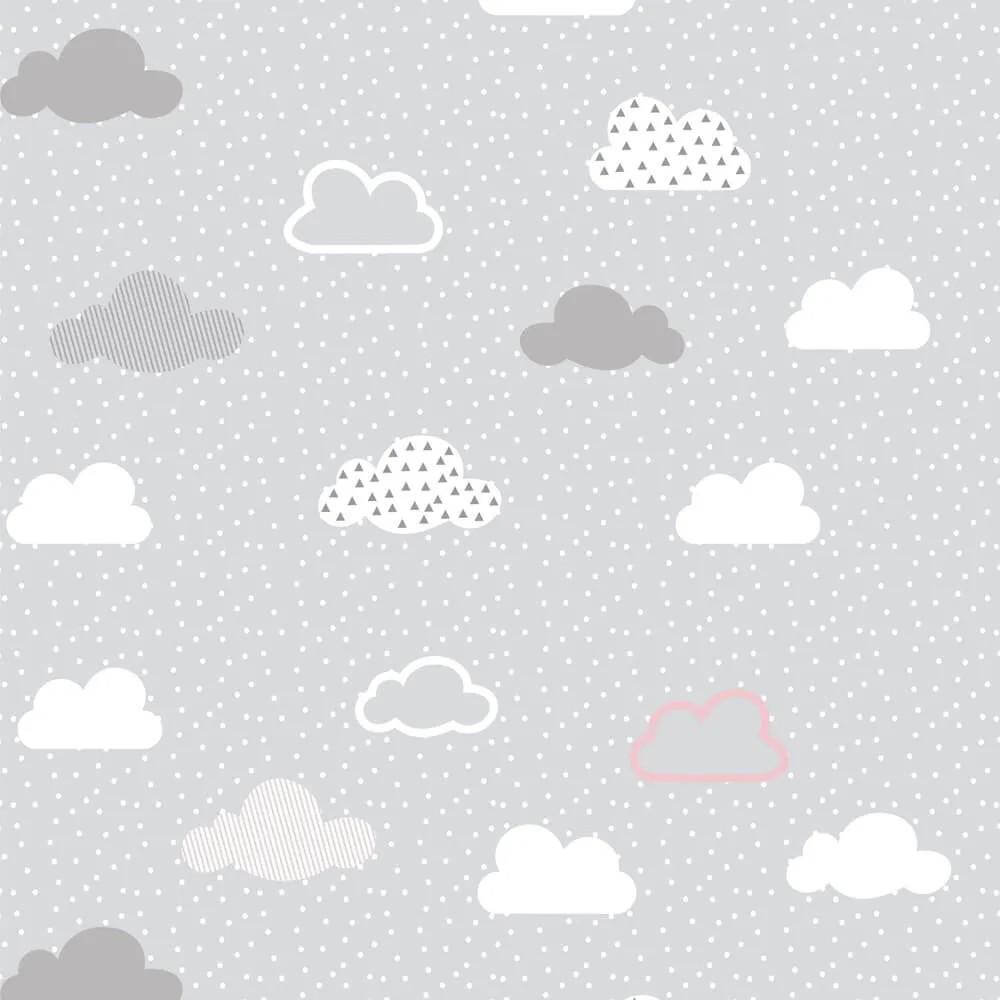 Papel de Parede Nuvens Cinza