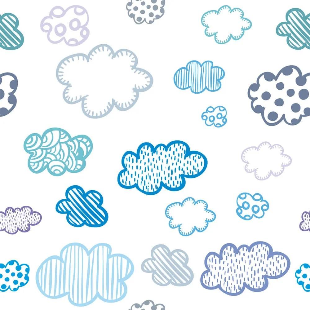 Papel de Parede Nuvens Diversas