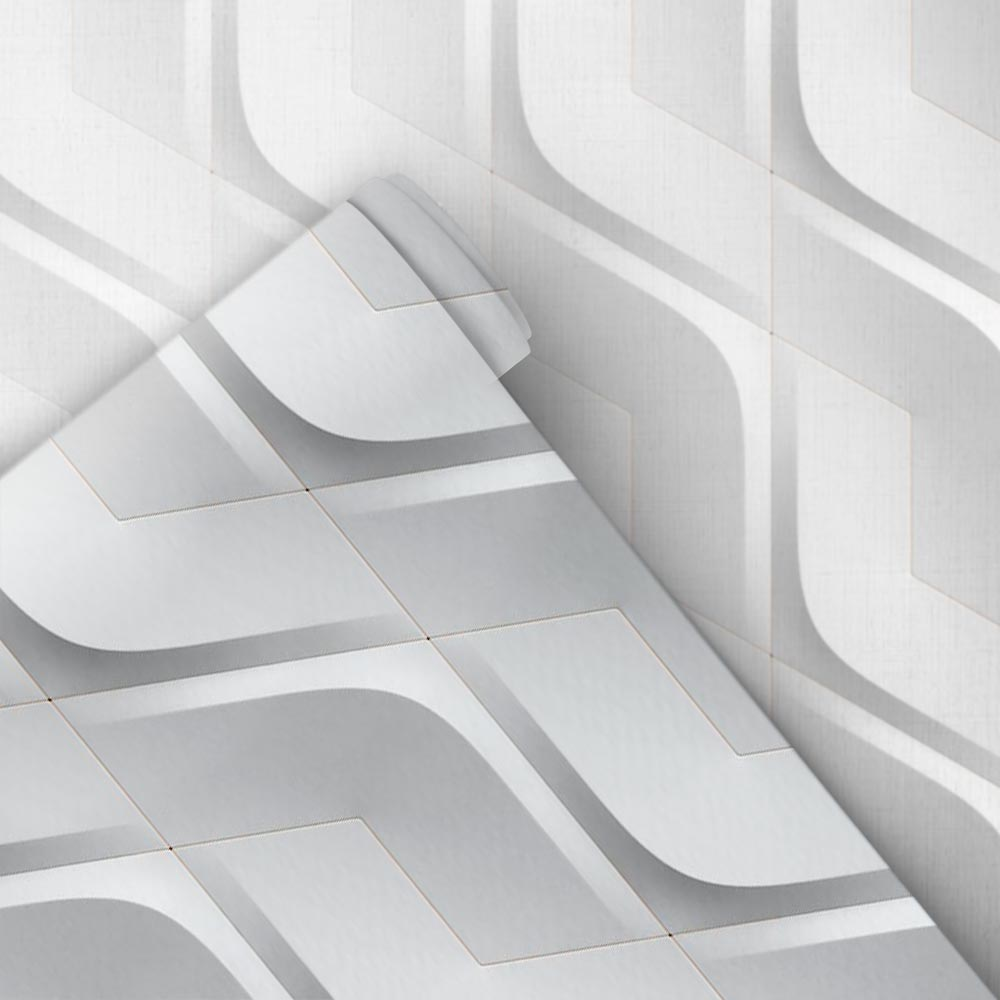 Papel de Parede 3D - Ondas 3D 2