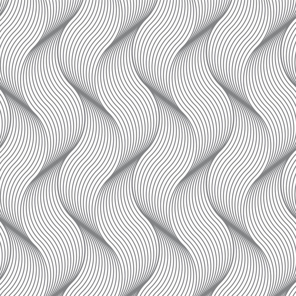 Papel de Parede 3D - Ondas Abstratas 3D