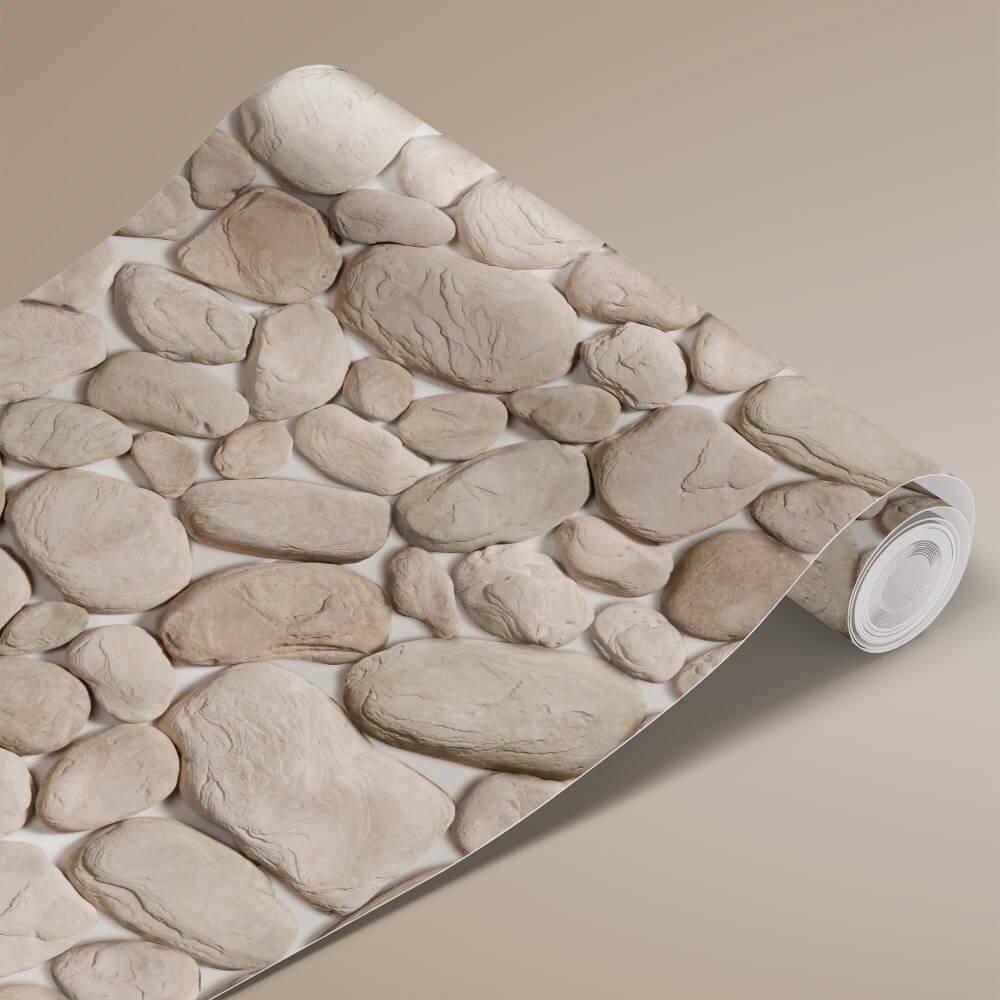 Papel de Parede Pedra Arredondada