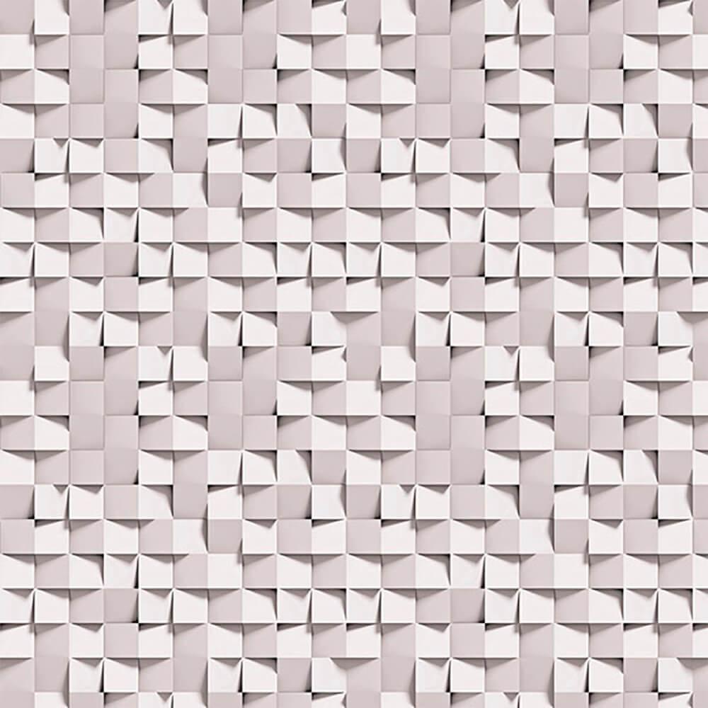 Papel de Parede 3D - Post It Cinza