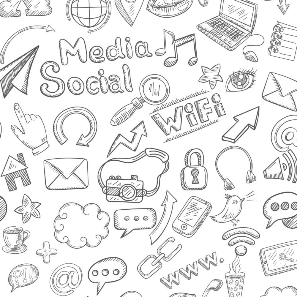 Papel de Parede Social Media