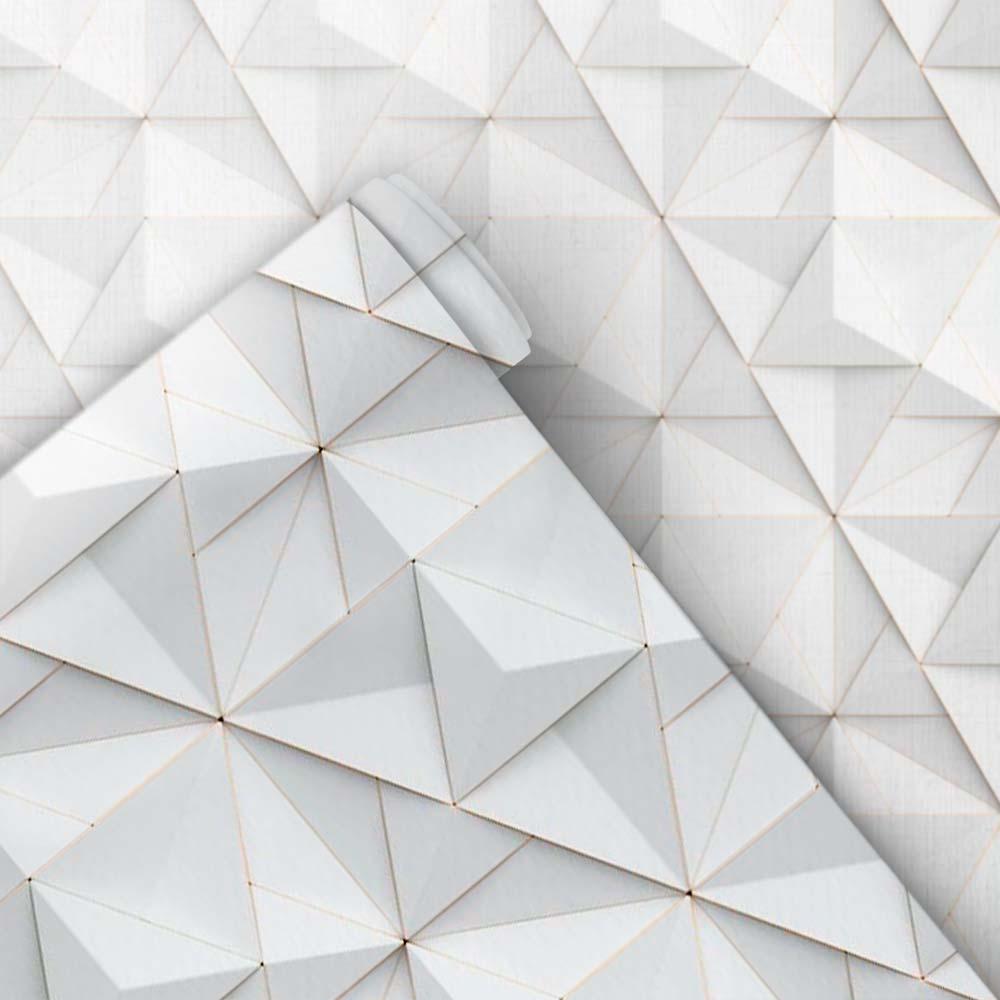 Papel de Parede 3D - Triângulos 3D 1