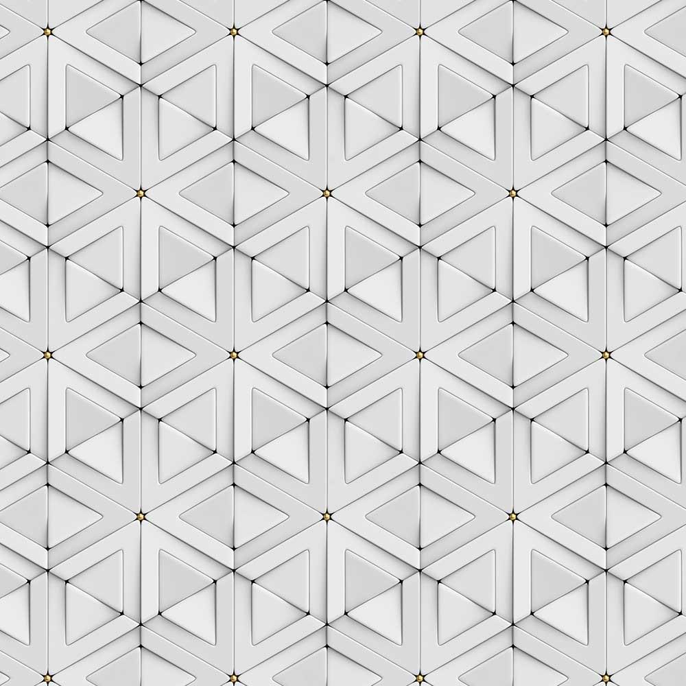 Papel de Parede 3D - Triângulos 3D 2