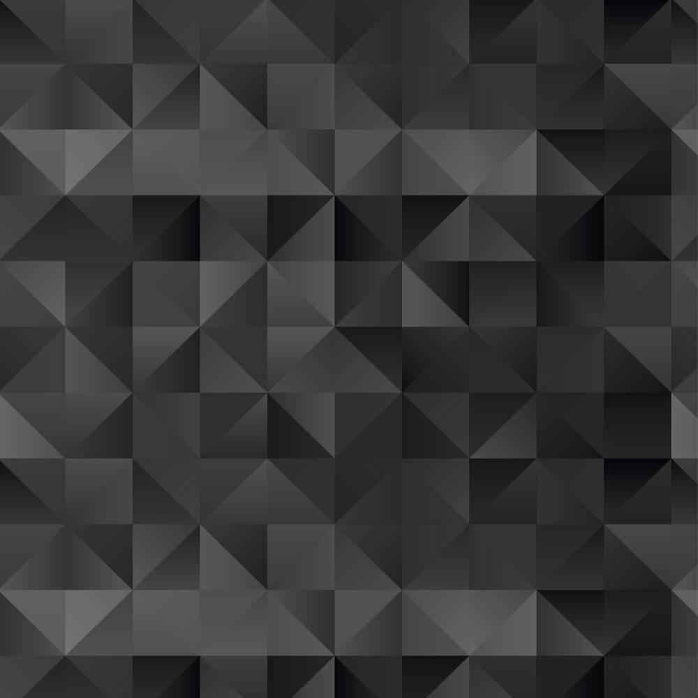 Papel de Parede Triângulos Dark