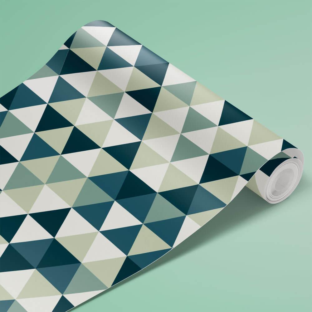 Papel de Parede Triângulos Geométricos 1