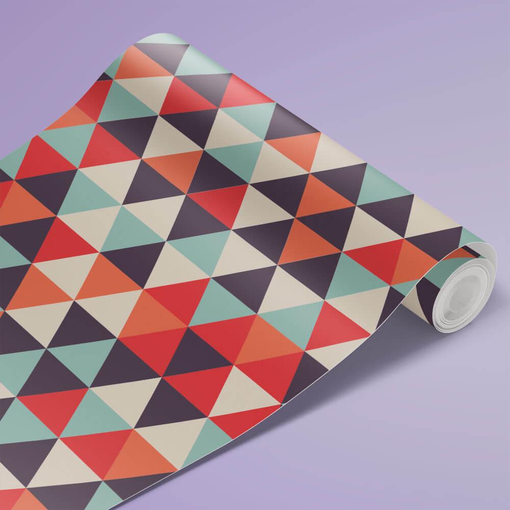 Papel de Parede Triângulos Geométricos 2