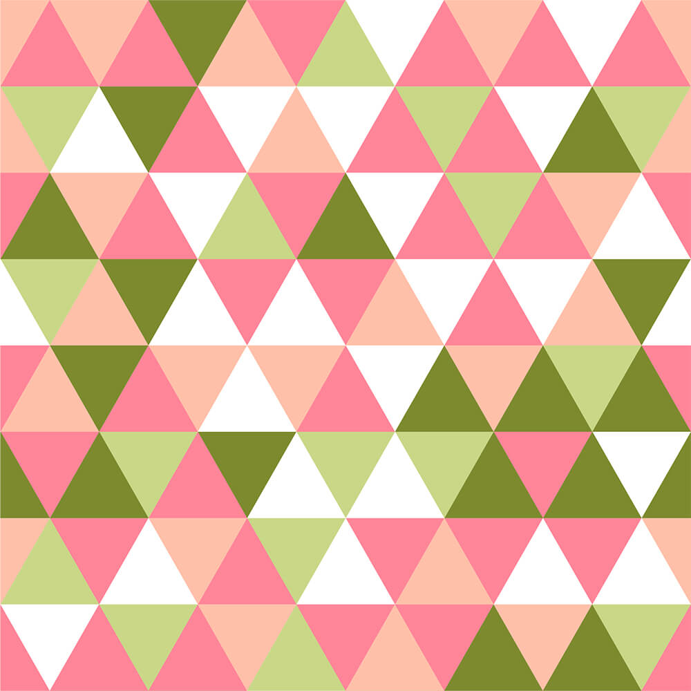 Papel de Parede Triângulos Geométricos 3