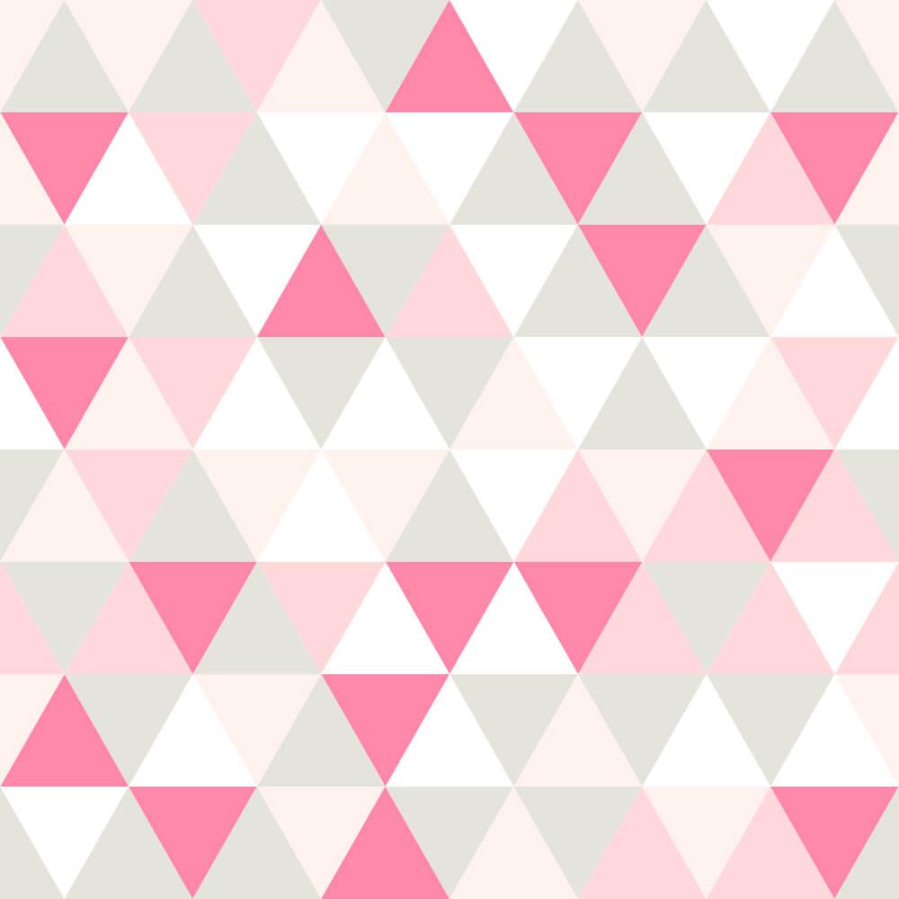 Papel de Parede Triângulos Geométricos 4