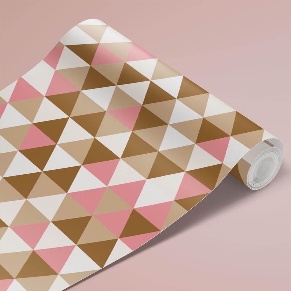 Papel de Parede Triângulos Geométricos 5