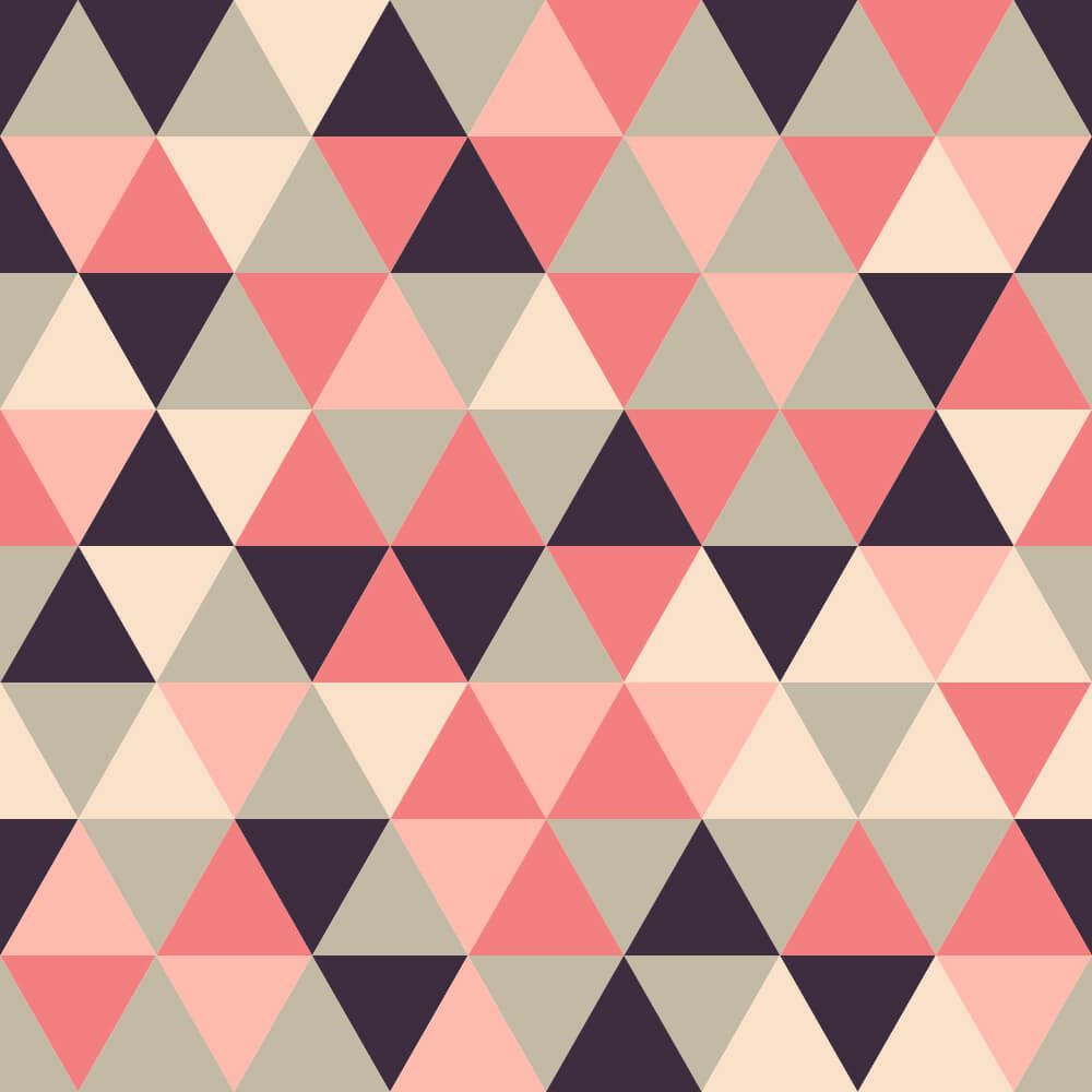 Papel de Parede Triângulos Geométricos 7