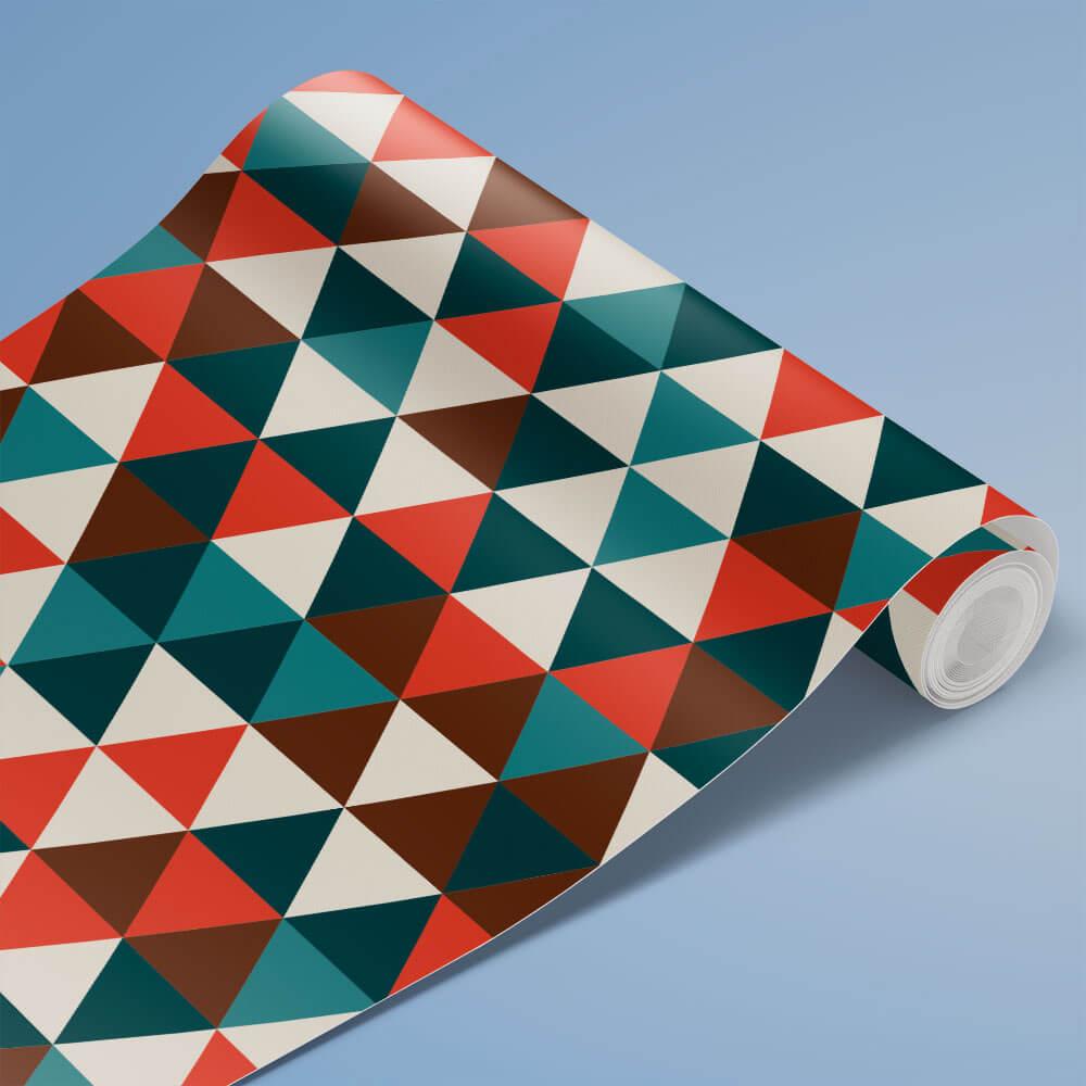 Papel de Parede Triângulos Geométricos 8