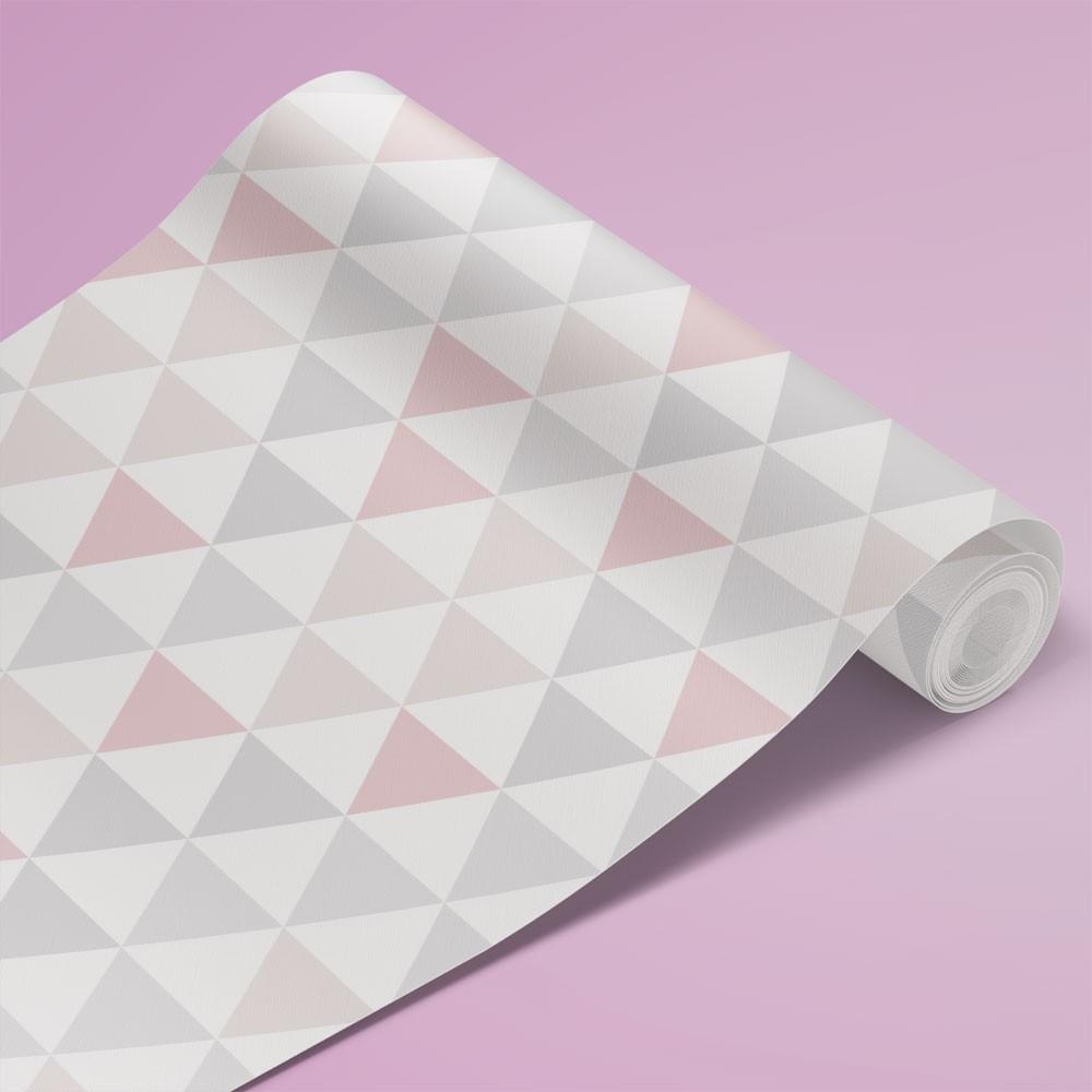 Papel de Parede Infantil - Triângulos Geométricos 9