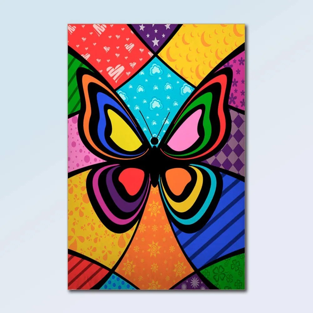 Placa Decorativa - Animais PopArt
