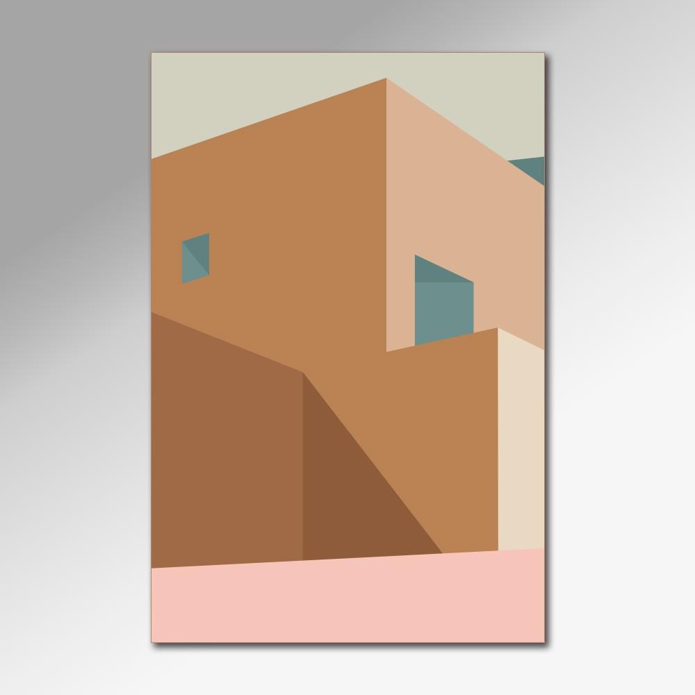 Placa Decorativa - Arquitetura Minimalista