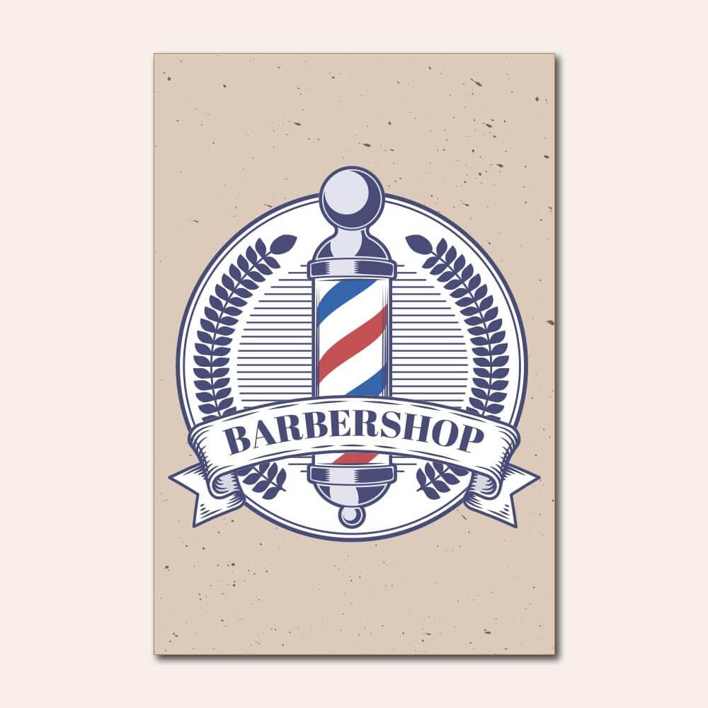 Placa Decorativa - Barbearia 1