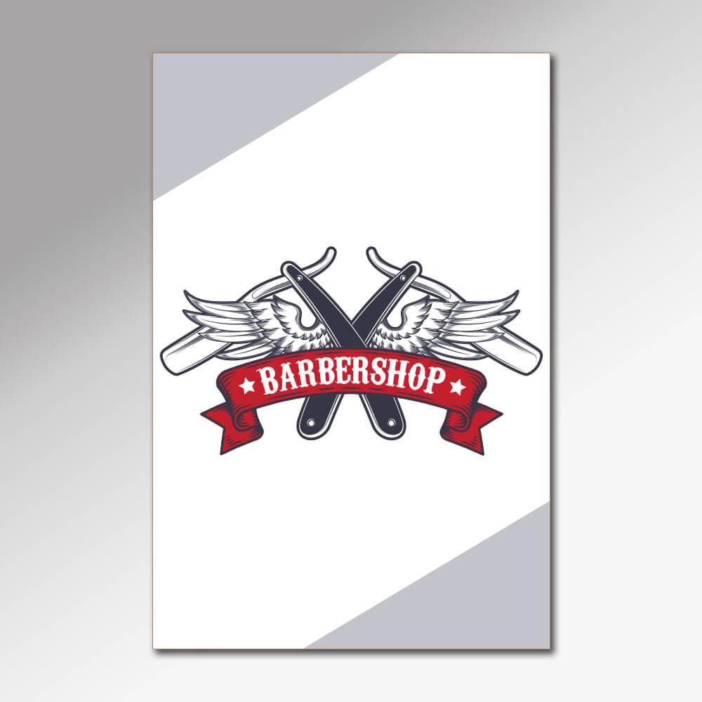 Placa Decorativa - Barbearia 2