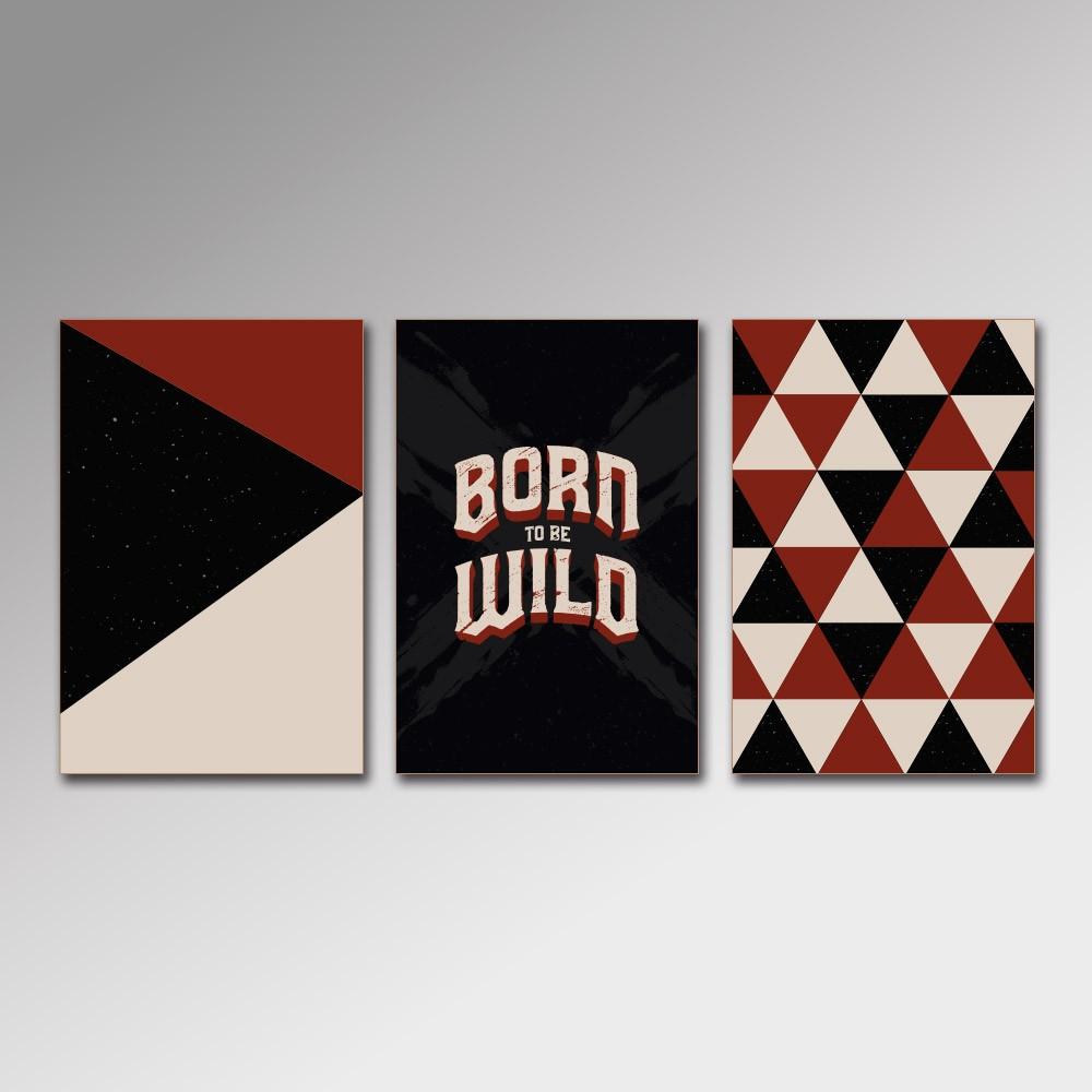 Placa Decorativa - Born to the Wild